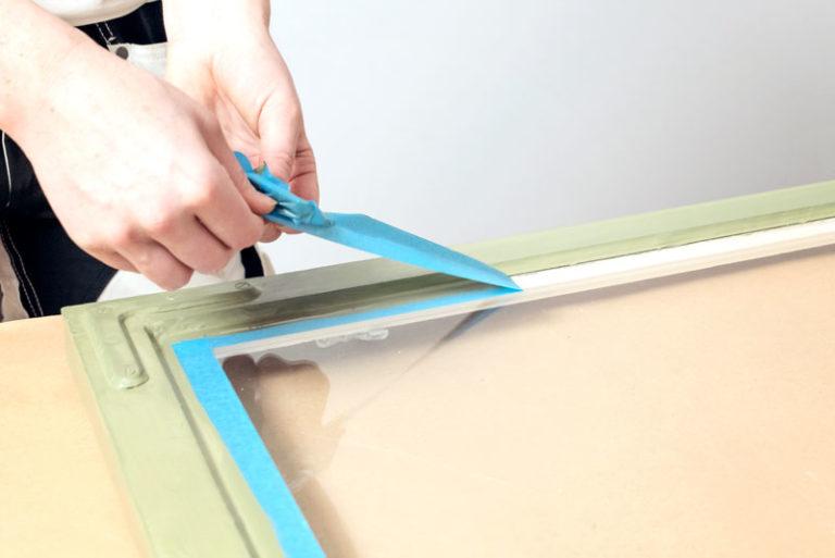 Fjerne malertape