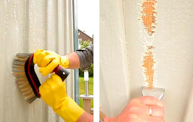Vask og skrab facaden