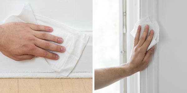 Malingsklar kan også bruges i hånden til for eksempel paneler