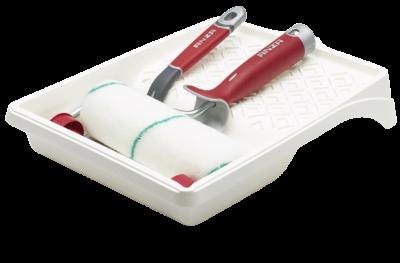 Elite startkit med 18 cm rulle og pensel