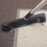 Fejekost med statisk gummi - på tæppe