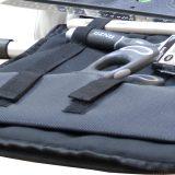 Spartelholder i taske