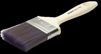 Basic Pro flad lakpensel 35 mm