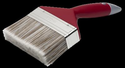 Elite vinklet rødfarvepensel 120 mm