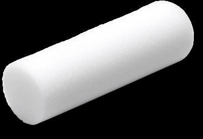 Basic minirulle glat 10 cm (Skum)