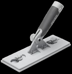 Slibeværktøj justerbart med velcro