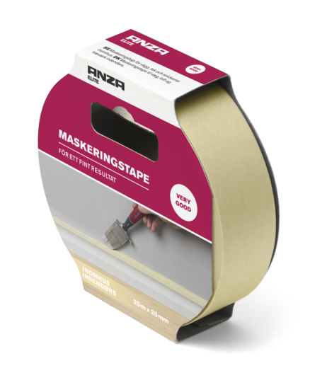 Elite malertape inde 25 m x 25 mm