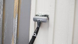 Træbeskyttelse . male udendørs træværk
