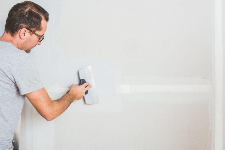 Spartling af gipsplader - Spartle ad flere omgange