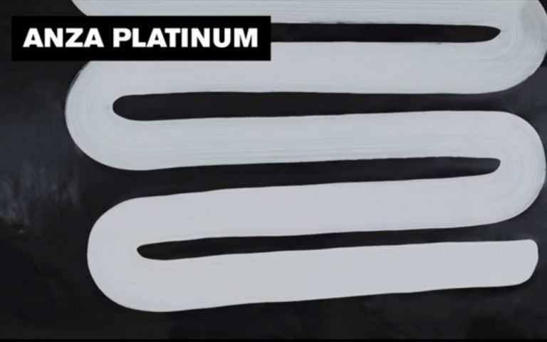 Vælg rigtig malerpensel - Anza Platinum pensel opstrøgstest