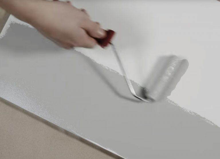 Male køkkenlåger med minirulle til glatte flader