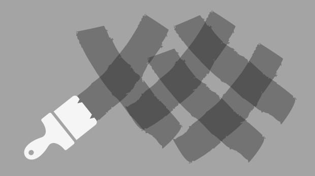 Krydsteknik - mere rolig struktur